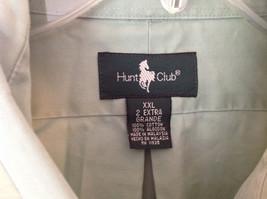 Light Green Button Down Short Sleeve Casual Shirt Hunt Club Collar Size XXL image 5