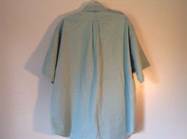 Light Green Button Down Short Sleeve Casual Shirt Hunt Club Collar Size XXL image 7