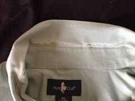 Light Green Button Down Short Sleeve Casual Shirt Hunt Club Collar Size XXL image 8