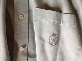 Light Green Button Down Short Sleeve Casual Shirt Hunt Club Collar Size XXL image 9