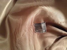 Norm Thompson Size 38R Beige Blue Plaid Suit Jacket Blazer Two Button Closure image 10
