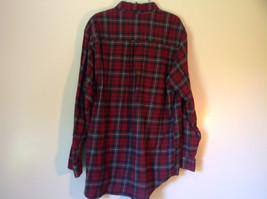 Northern Expedition Limited Size Large Plaid Long Sleeve Button Up Flannel Shirt image 4