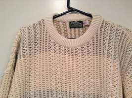 North Bay Outfitters 100 Percent Cotton Long Sleeve Knitted Sweater Size L image 2