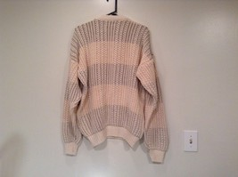 North Bay Outfitters 100 Percent Cotton Long Sleeve Knitted Sweater Size L image 4