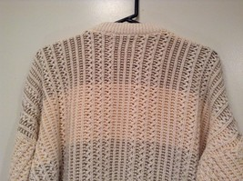 North Bay Outfitters 100 Percent Cotton Long Sleeve Knitted Sweater Size L image 5