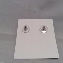 Lizzy J bullet stud silver traditional finish  earrings USA made image 4