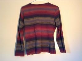 Long Sleeve Aeropostale Striped Shirt 100 Percent Cotton Size Small Multicolored image 5
