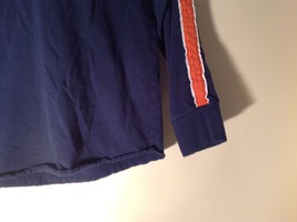 Long Sleeve Dark Blue Basketball Shirt Logo  Abercrombie image 4