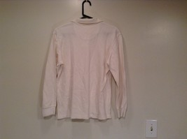 Long Sleeve Collared White Polo Shirt GAP 100 Percent Cotton Size XXL 14 to 16 image 4
