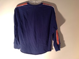 Long Sleeve Dark Blue Basketball Shirt Logo  Abercrombie image 6