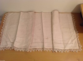 Lot Vintage Table Wear Table Runners Napkins Towel image 7