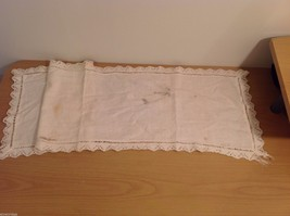 Lot Vintage Table Wear Table Runners Napkins Towel image 11