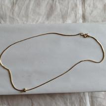 Lot of 2 Gold Tone Vintage Snake necklaces image 4