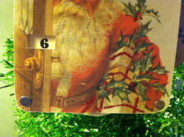"""""""Only Days to Go And Santa is Watching"""" Christmas Countdown Hanging Wall Decor image 4"""