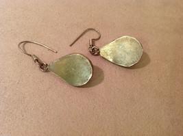 "Lot of 2 pairs Vintage Sterling Silver earrings, 1"" long image 3"