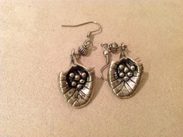 "Lot of 2 pairs Vintage Sterling Silver earrings, 1"" long image 4"