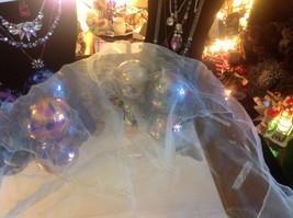 Lot of 6 gauzes greens blues teal aqua transparent translucent scarves vintage image 2