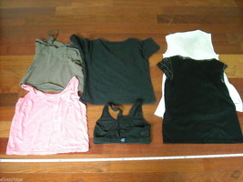 Lot of 6 Spring/Summer Woman's Tops Size XS/S image 2