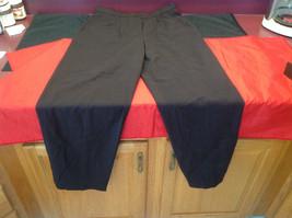 Louis Feraud Ladies Long Brown Pants Size 12 image 2