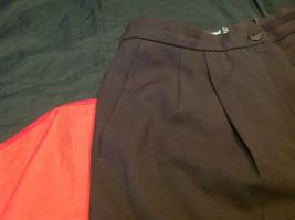 Louis Feraud Ladies Long Brown Pants Size 12 image 6