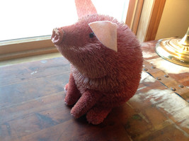 Palm Fiber Big Pink Pig Brush Eco Fiber Sustainable Made in Philippines image 3