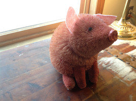 Palm Fiber Big Pink Pig Brush Eco Fiber Sustainable Made in Philippines image 2