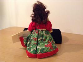 Madame Alexander Collectible Doll Home for the Holidays Christmas themed, no box image 5