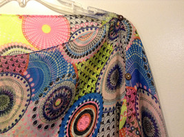 """MAD fashion New """"Pink Kayleigh"""" Scarf Cape Kimono Top, Two in One image 5"""