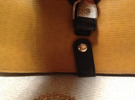 Mad Style NEW Yellow Buckle Roll Three In One Clutch Bag with 3 Different Straps image 3