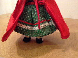 Madame Alexander Collectible Doll Little Red Riding Hood in Green Dress, no box image 4