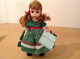 Madame Alexander Collectible Doll Little Red Riding Hood in Green Dress, no box image 5