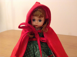 Madame Alexander Collectible Doll Little Red Riding Hood in Green Dress, no box image 2