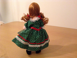 Madame Alexander Collectible Doll Little Red Riding Hood in Green Dress, no box image 6