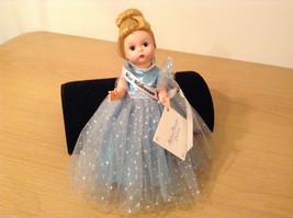 Madame Alexander Miss Millennium Collectible Doll Silver Blue Dress, no box image 2