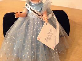 Madame Alexander Miss Millennium Collectible Doll Silver Blue Dress, no box image 3