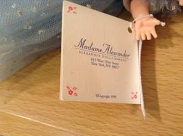 Madame Alexander Miss Millennium Collectible Doll Silver Blue Dress, no box image 6