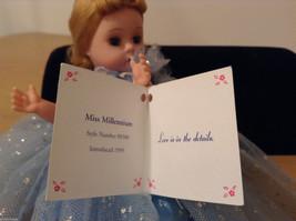 Madame Alexander Miss Millennium Collectible Doll Silver Blue Dress, no box image 7
