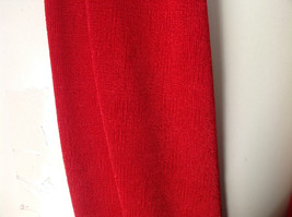 Magic Slinky Infinity Red Ring Scarf with Spandex See Measurements Below image 2