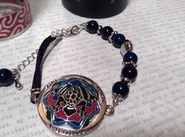 Mandala Frog Dark Blue Beads Adjustable Length Marcella Bracelet Health Luck image 3