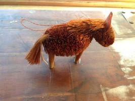 Palm Fiber Orange Horse Brush Eco Fiber Sustainable Made in Philippines image 2