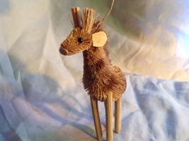 Palm Fiber Giraffe Brush Animal Eco Fiber Sustainable Ornament image 2