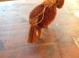 Palm Fiber Orange Horse Brush Eco Fiber Sustainable Made in Philippines image 3