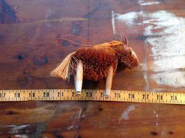 Palm Fiber Orange Horse Brush Eco Fiber Sustainable Made in Philippines image 6