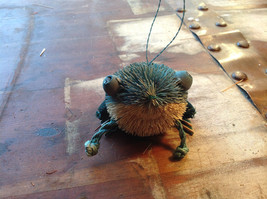 Palm Fiber Green Frog Brush Eco Fiber Sustainable Made in Philippines image 2