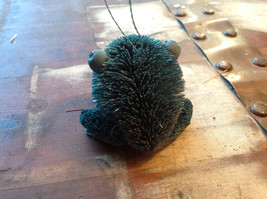 Palm Fiber Green Frog Brush Eco Fiber Sustainable Made in Philippines image 4