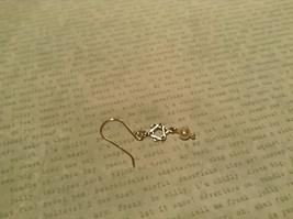 Pearls Star of David Handmade Sterling Silver Judaica Earrings 925 Sterling image 4