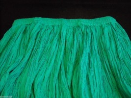 Peasant Style Skirt in Teal with Elastic Waistband image 2