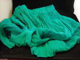 Peasant Style Skirt in Teal with Elastic Waistband image 5