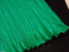 Peasant Style Skirt in Teal with Elastic Waistband image 6