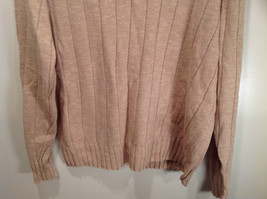 Paul Fredrick Size Medium Big Collar Brown Sweater Excellent Condition image 3